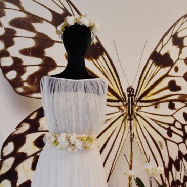 Coronas de flores y cinturón floral :LookNupcial